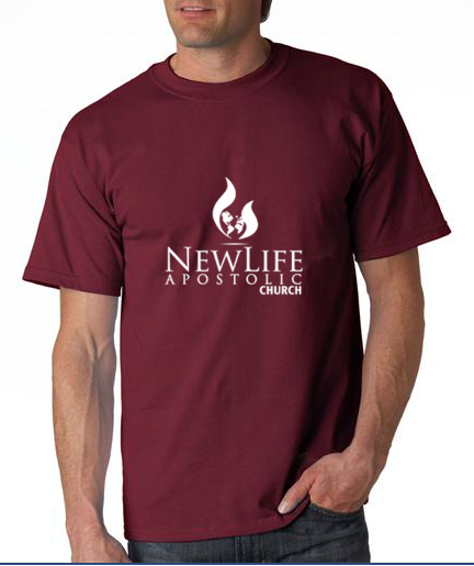 NLAC t-shirt front
