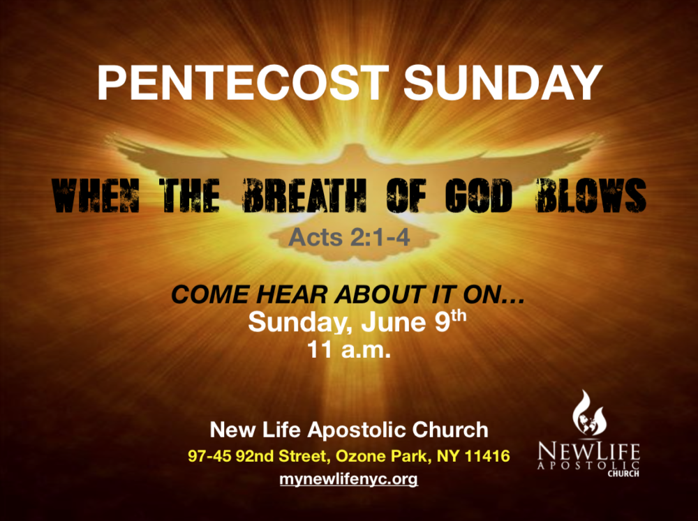Pentecost: When the Breath of God Blows