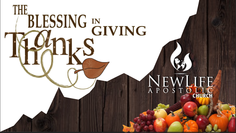 The Blessing in Giving Thanks